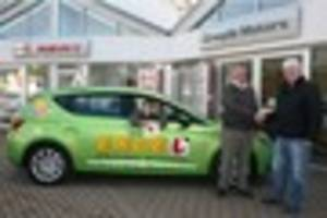 driving instructor's 'green machine' is proving a delight for...