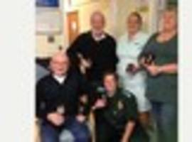 jubilee medals for ambulance staff